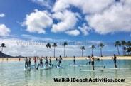 Standup Paddleboard Yoga Sup Yoga Class Waikiki Beach Photos 1 03