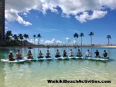 Standup Paddleboard Yoga Sup Yoga Class Waikiki Beach Photos 1 04
