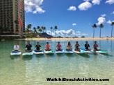Standup Paddleboard Yoga Sup Yoga Class Waikiki Beach Photos 1 07