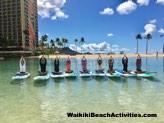 Standup Paddleboard Yoga Sup Yoga Class Waikiki Beach Photos 1 08