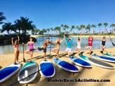 Standup Paddleboard Yoga Sup Yoga Class Waikiki Beach Photos 1 13